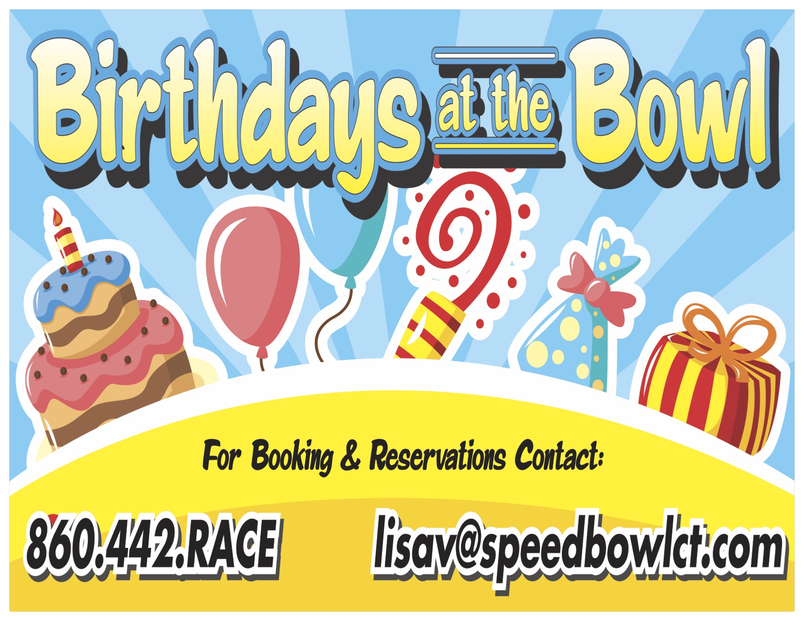 Birthday Parties Waterford Speedbowl