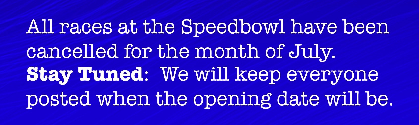 Waterford Speedbowl
